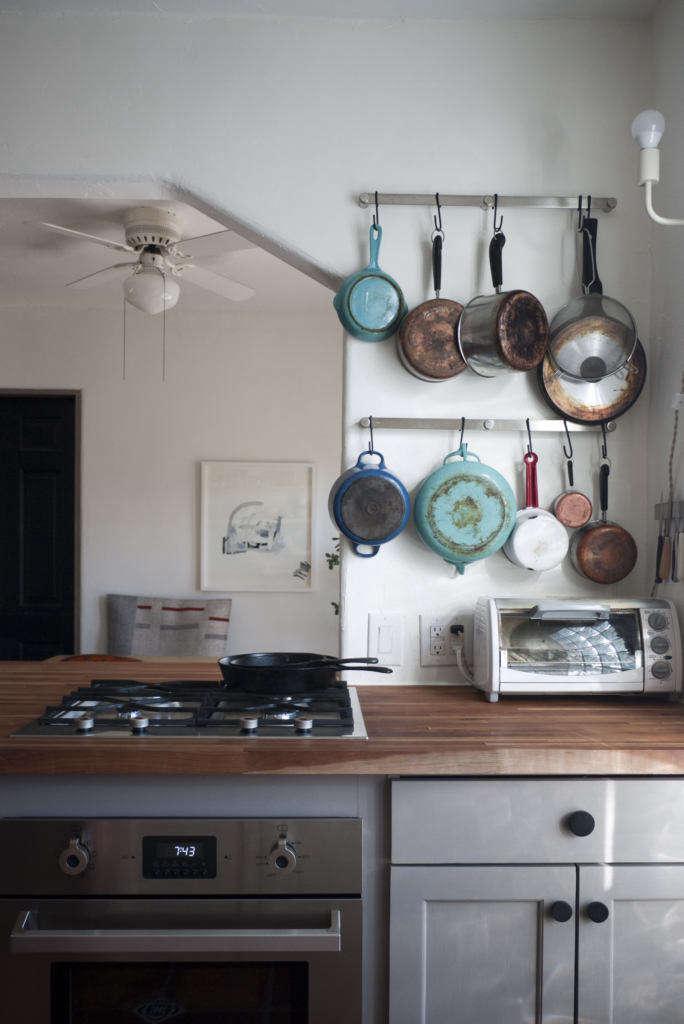 pot rack and stove 12