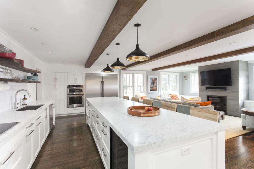 kitchen island view 9