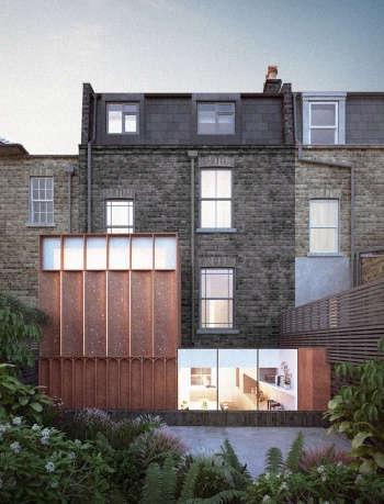 corten extension architect