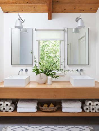 Santa Cruz bathroom by SVK Interior Design