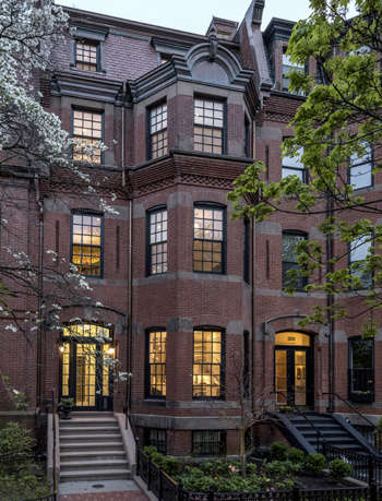 back bay boston townhouse by catherine truman architects