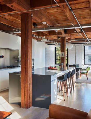 industrial loft, industrial kitchen 27