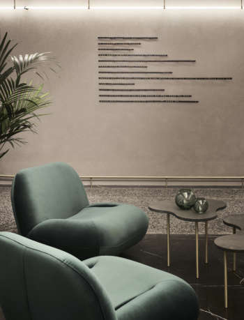 Perianth hotel design by K-Studio